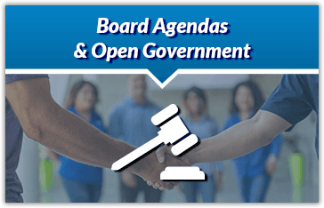 Board Agendas and Open Government